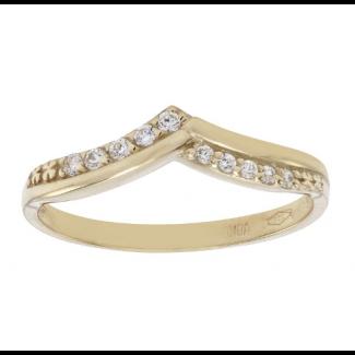Nordahl Andersen 8kt Guld ring med syn. zirkonia 142 1730CZ3
