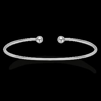 Støvring Design Sølv Armring med Kugler 15163971