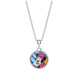 Disney Minnie Mouse Halskæde i Sølv 16333509