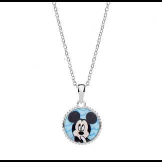Disney Micky Mouse Halskæde i Sølv 16333510