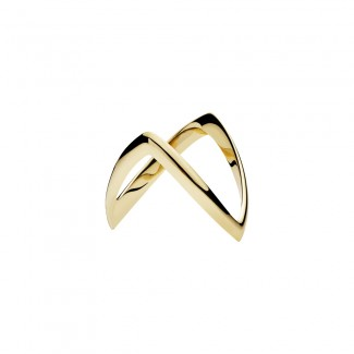 Lund Copenhagen 3,5mm Bispehue Ring i 14kt Guld 5077540