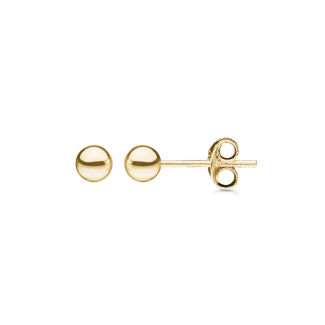 Støvring Design 8kt Guld Ørestikker 4mm 60004