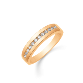 Støvring Design 14kt Guld Ring med Zirkonia 72251981