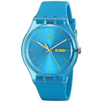 "Swatch ""Turquoise Rebel"" SUOL700"