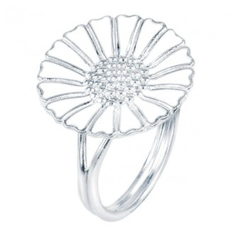 Lund Copenhagen 18mm Marguerit Ring 907018-H