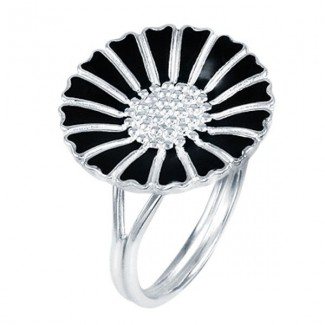 Lund Copenhagen 18mm Marguerit Ring 907018-S