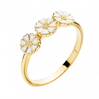 Lund Copenhagen 5mm Marguerit Ring 907050-3-M