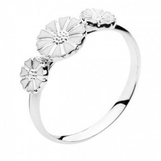 Lund Copenhagen 7,5mm Marguerit Ring 907075-3-H