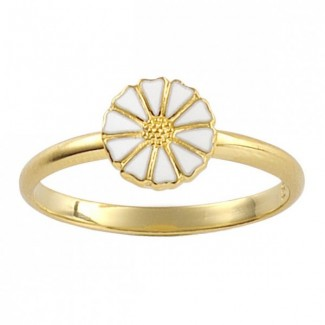 Lund Copenhagen 7,5mm Marguerit ring 907075-M