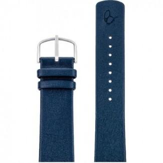 Arne Jacobsen Navy Blå Læderrem 22mm