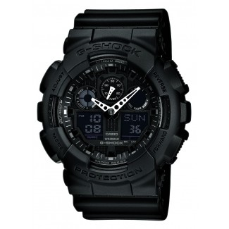 Casio G-Shock Sort GA-100-1A1ER