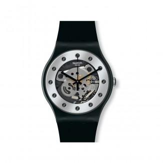 "Swatch ""Silver Glam"" SUOZ147"