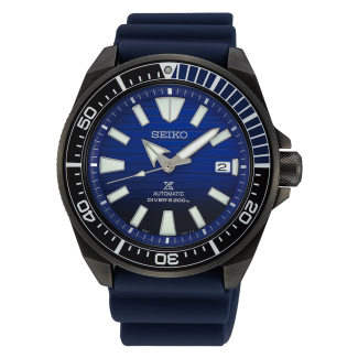 "Seiko Prospex Automatic ""Save The Ocean"" Gunmetal Black Samurai SRPD09K1"