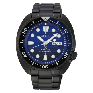 "Seiko Prospex Automatic ""Save the Ocean"" Gunmetal Black Turtle SRPD11K1"
