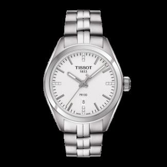 Tissot PR 100 Lady med Diamanter T101.210.11.036.00