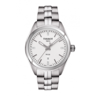 Tissot PR 100 Lady med Diamanter T1012101103600